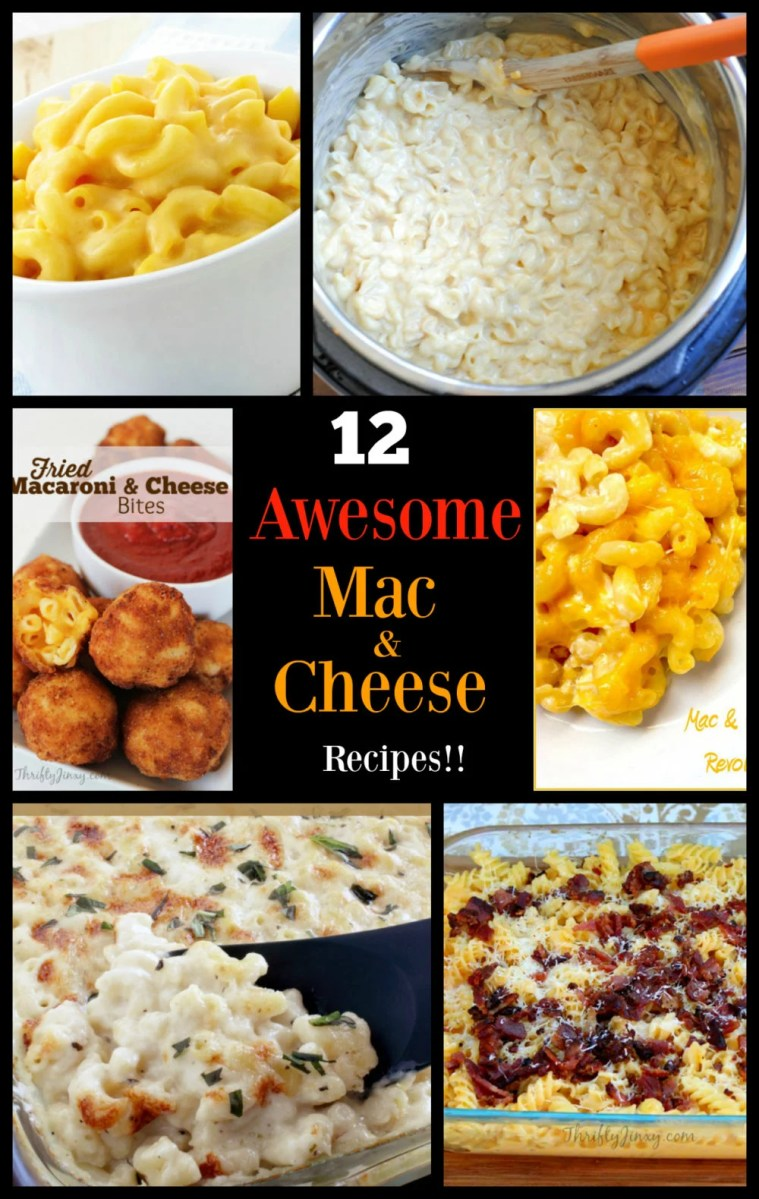 12 easy mac & cheese recipes!