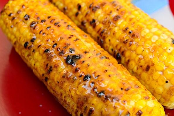 grilling corn on the cob Spicy Cinnamon Sugar