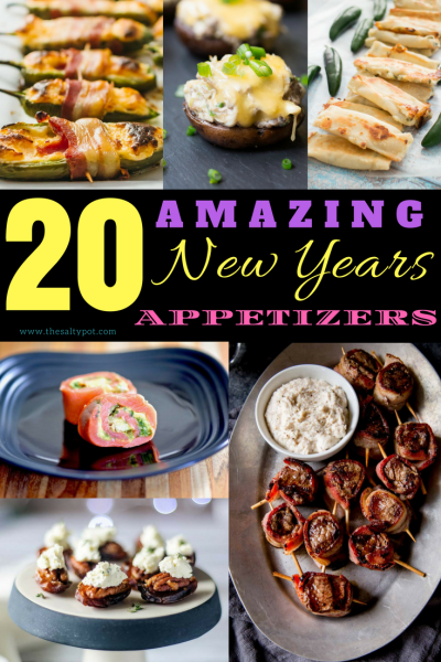 20+ amazing new years appetizers
