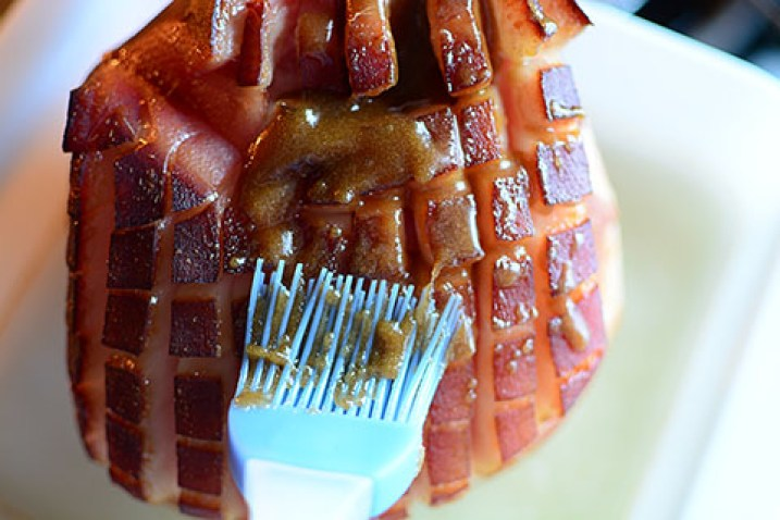 Brown Sugar Maple Pecan Ham - The flavors are nutty, sweet, a PERFECT pairing with a salty smokey ham!