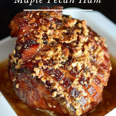 brown sugar maple pecan ham