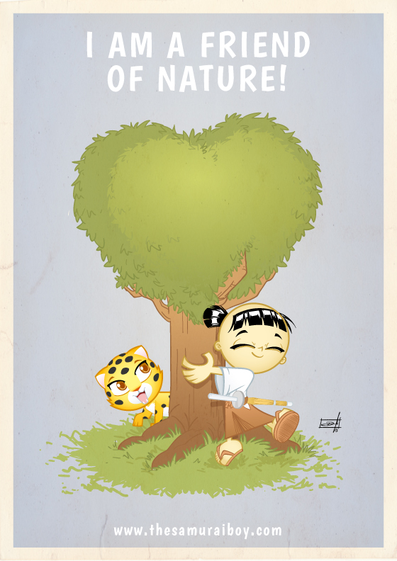 I am a friend of Nature! Happy World Environment Day