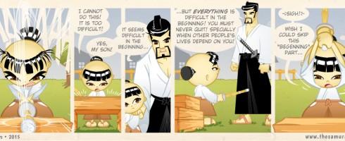 S02E07 - Everything seems difficult in the beginning - Samurai Boy