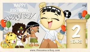 Happy birthday Samurai Boy
