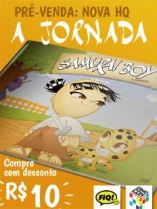 Compre com desconto a nova HQ SAMURAI BOY: A JORNADA