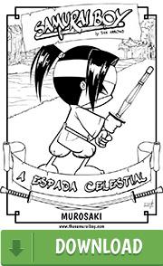 Arte para colorir - Samurai Boy: A Espada Celestial - Ninja Boy