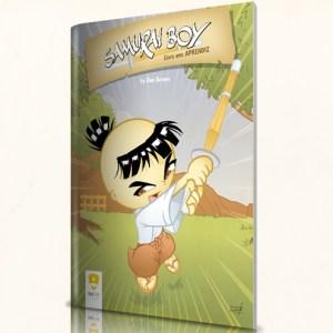 Compre a Revista em Quadrinhos - Samurai Boy: Aprendiz