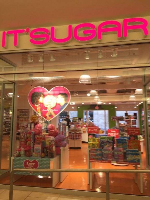It's sugar!