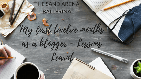 My first twelve months as a blogger – Lessons Learnt