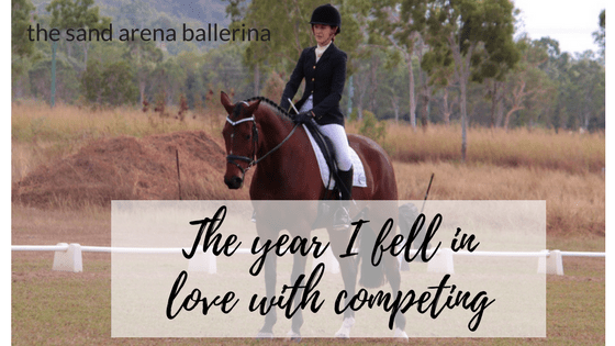 The year I fell in love with competing