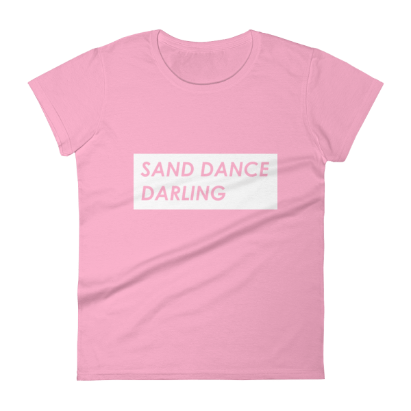 Sand Dancing slogan tee from Fillies Equestrian
