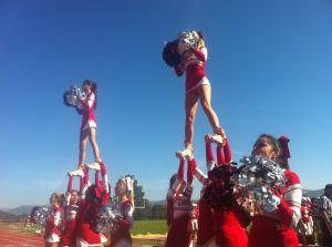 Cheer team game