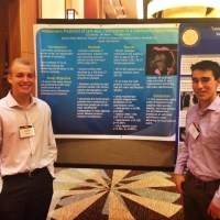 Two seniors present medical research study in Hawaii