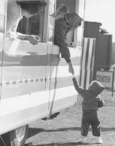 One of the Bing Mobiles in its Heyday. Photo Courtesy of The Carmel Youth Center