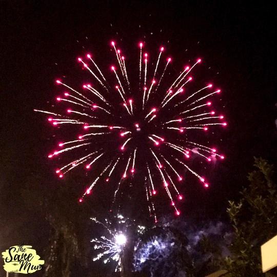Kalgoorlie Fireworks - Australia Day 2019. Photo by The Sane Mum