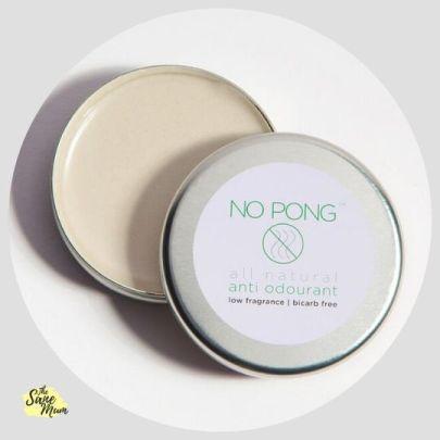 No Pong Natural Deodorant Paste - Bicarb Free - Sensitive Skin