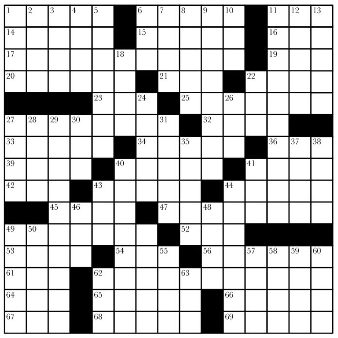 CrosswordPuzzlePreview