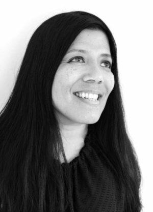 Black and white headshot of poet Maw Shein Win