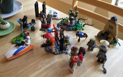 Legos on parade