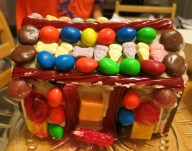 Gingerbread house, Halloween candy