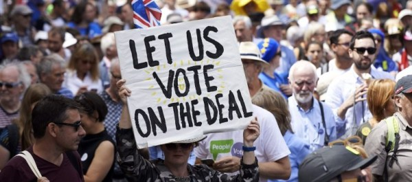 Brexit Deadlock: Let the people vote. – The Sapient Project