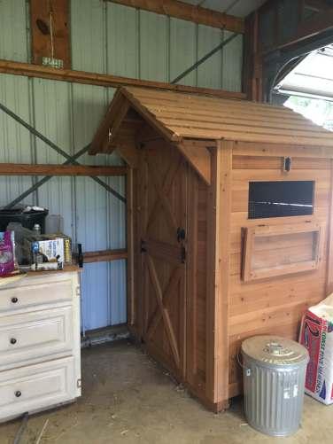 New duck hut