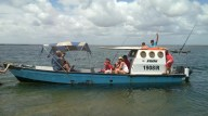 The Sardine Team on Charter in Inhambane Estuary