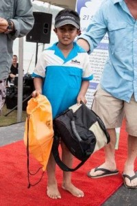 Revashan Naidu from Scottburgh was the top angler in the catch and release fishing competition with a total of 12 fish