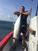 a Huge couta by Marc Lange - 35kg's, one of three over 30kg's Marc got this super fishing day