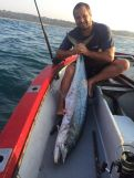 Marc again, another 30kg fish caught on a MYDO Livebaitswimmer Couta Trace