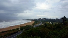 Cut off low conditions over Port Shepstone