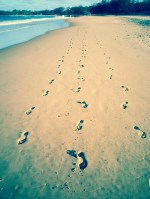 Leave only your footprints (c) Lalaland