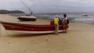 These are the Banana Boats we will be using on Inhaca Island