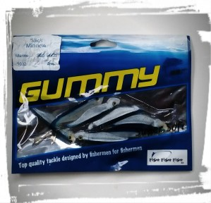 GUMMY Slick Minnow in Orca