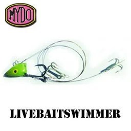 MYDO Livebaitswimmer comes in different sizes for different depths in the water column