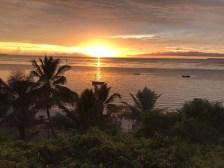 Sunrise overlooking the Bazaruto Archipelego