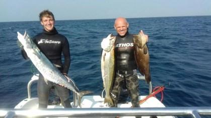 Very good spearfishing
