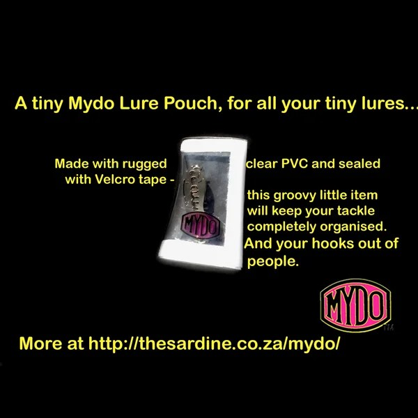 Mydo Lure Pouch in size tiny