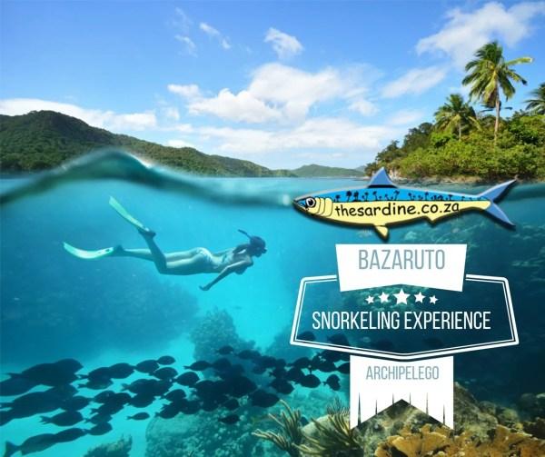 Bazaruto Snorkeling Experience