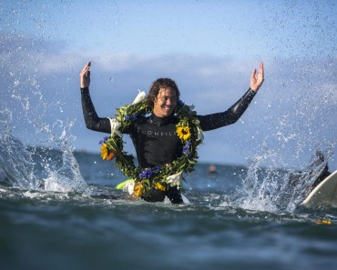 Surfers Pay Tribute to Jack O'Neill In JBay Memorial Paddle Out