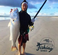 FIshing with the Fishing Republic and Kegan Matheys at The Strand