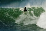 Shaun Tomson - new inductee into the South African Hall of Fame, ripping JBay the way we all know him