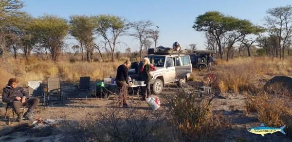 Botswana camping 2019