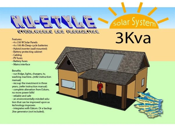3Kva Solar System by NuStyle