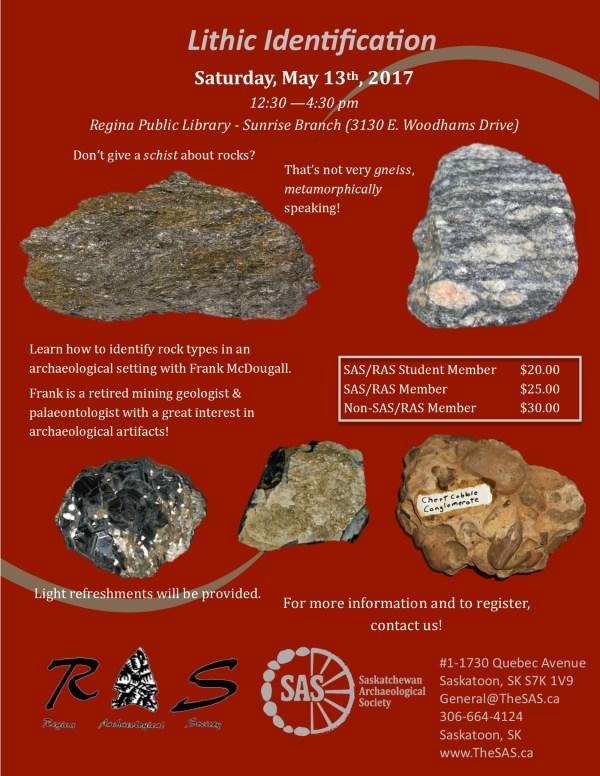 Lithic Identification Workshop Saskatchewan Archaeological Society