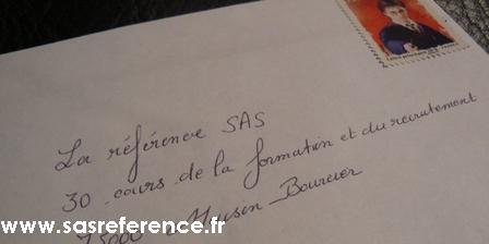 Envoyer un email via SAS
