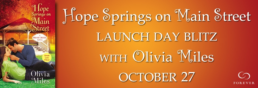 HOPE SPRINGS ON MAIN STREET by Olivia Miles: Launch Day Blitz & Review