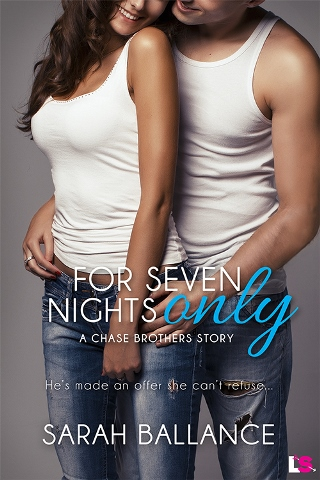 FOR SEVEN NIGHTS ONLY by Sarah Ballance: Spotlight ~ Review, Excerpt & Giveaway