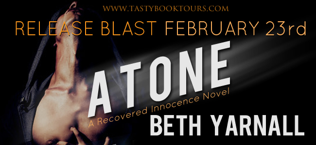 ATONE by Beth Yarnell: Release Blast