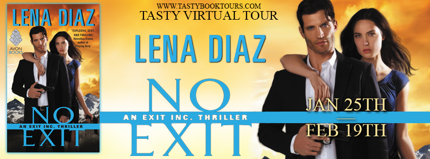 NO EXIT by Lena Diaz: Excerpt & Giveaway